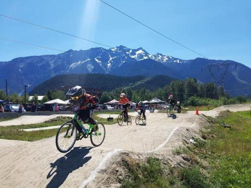 Pemberton BMX Track and skateboard bowl